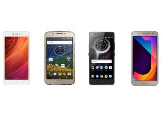 Redmi Y1 vs Moto G5 vs Samsung Galaxy J7 Nxt vs Lenovo K8 Plus: Price in India, Specifications, Features Compared
