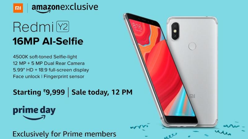 Xiaomi Redmi Y2, Mi TV 4, Mi TV 4A Flash Sales Today at 12pm
