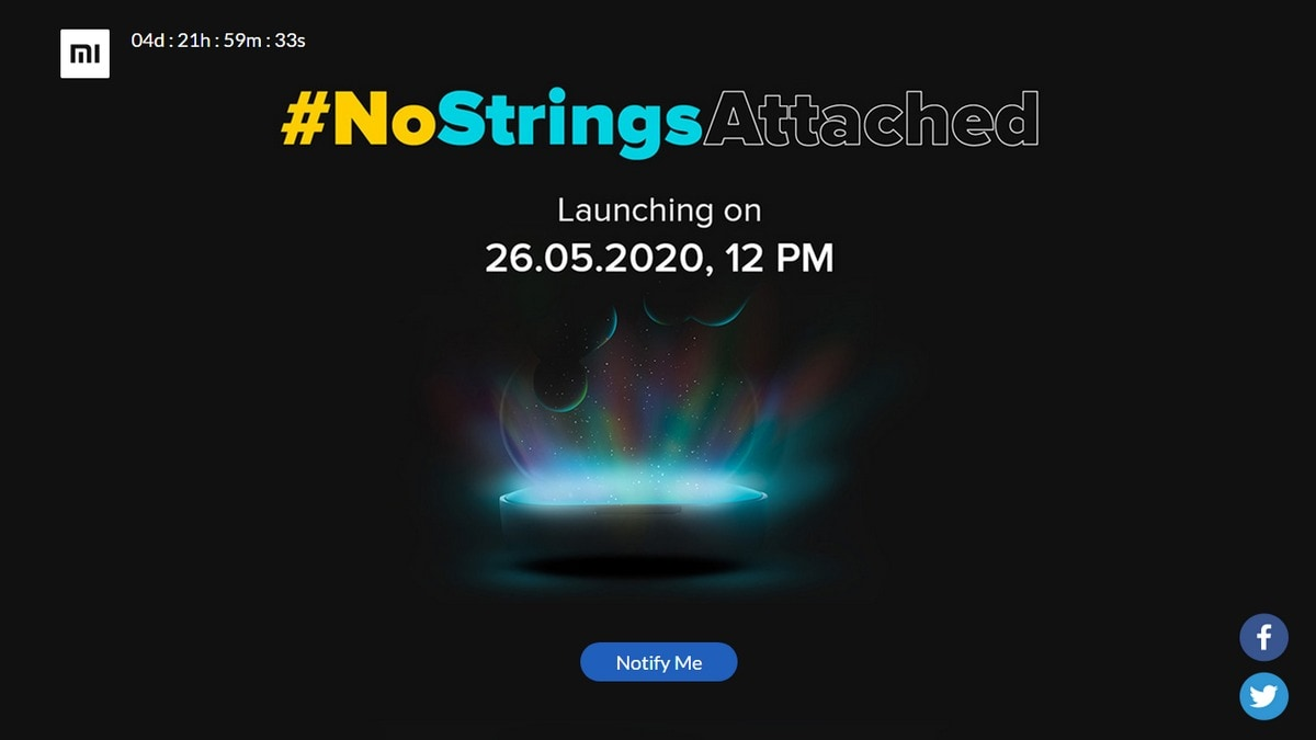 Xiaomi to Launch New Wireless Audio Product on May 26, Could Be Redmi AirDots S