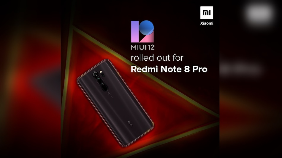 Redmi Note 8 Pro Starts Receiving MIUI 12 Update in India