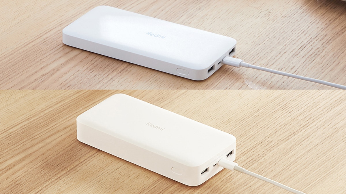 Redmi Power Banks in 10,000mAh, 20,000mAh Capacities Launched