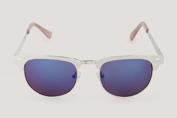 New Look Retro Sunglasses - Blue