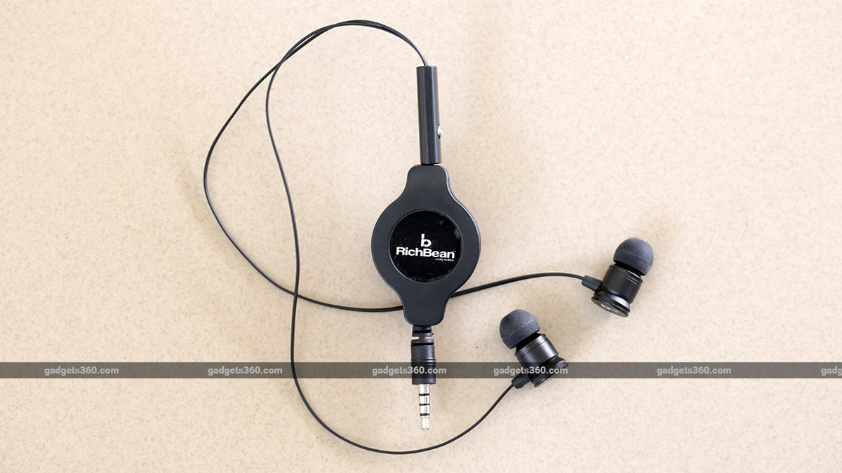 RichBean Retract Earphones Review