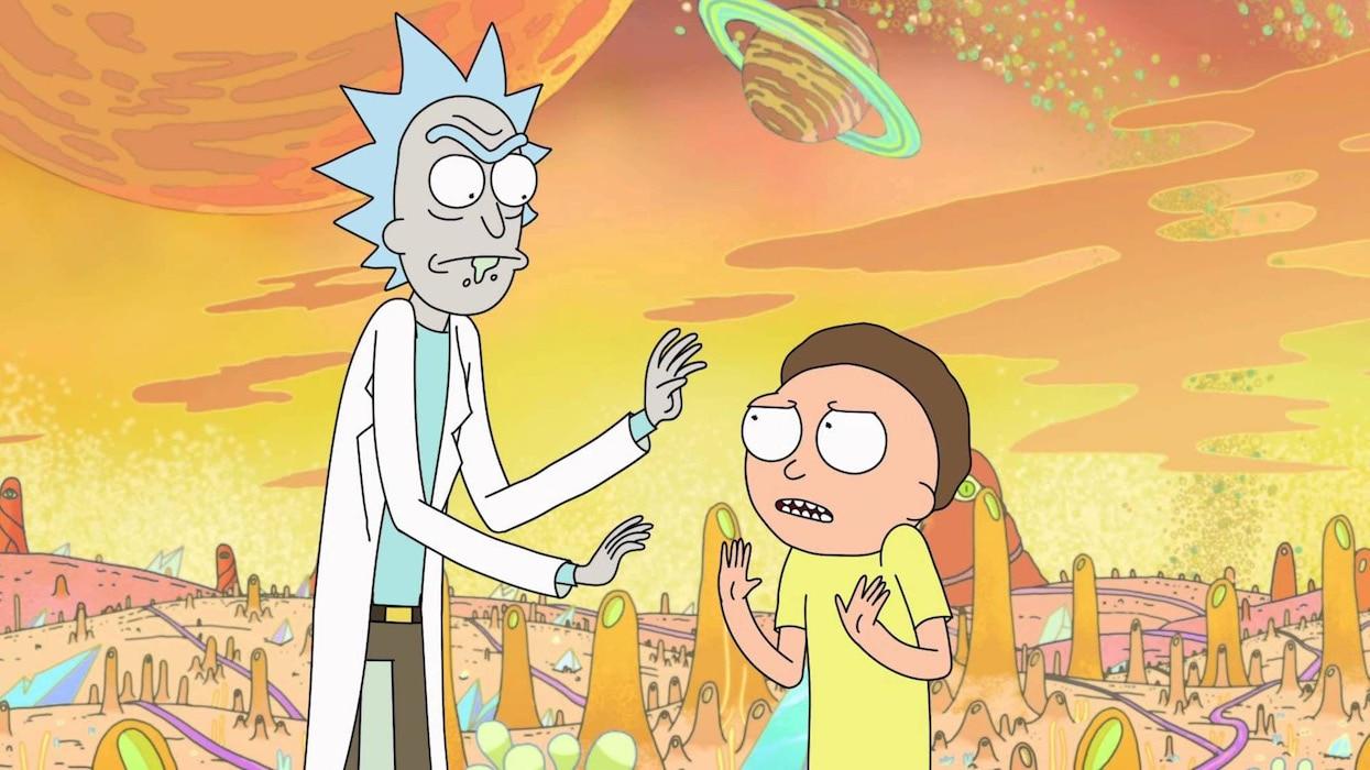 Rick and Morty rick and morty