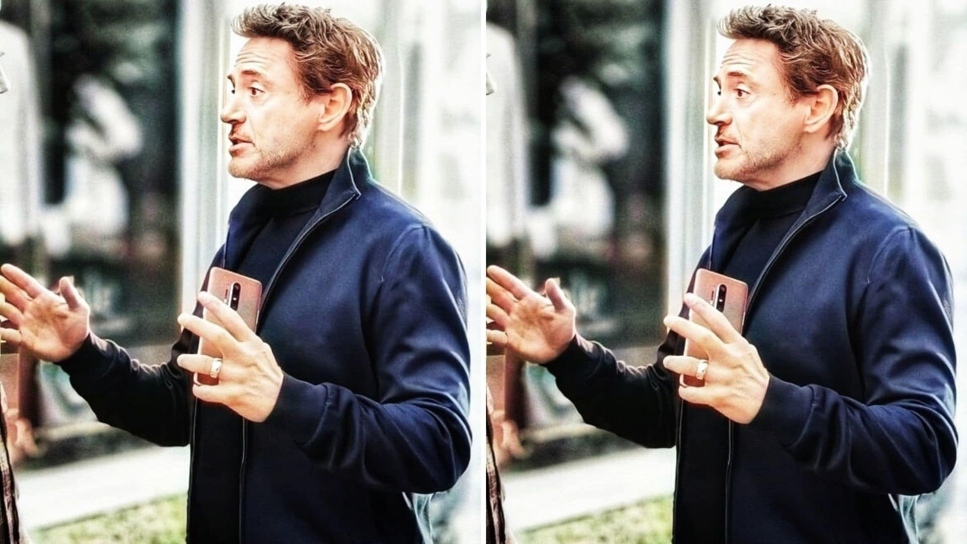 OnePlus 8 Pro May Just Have Been Spotted in Brand Ambassador Robert Downey Jr.'s Hand