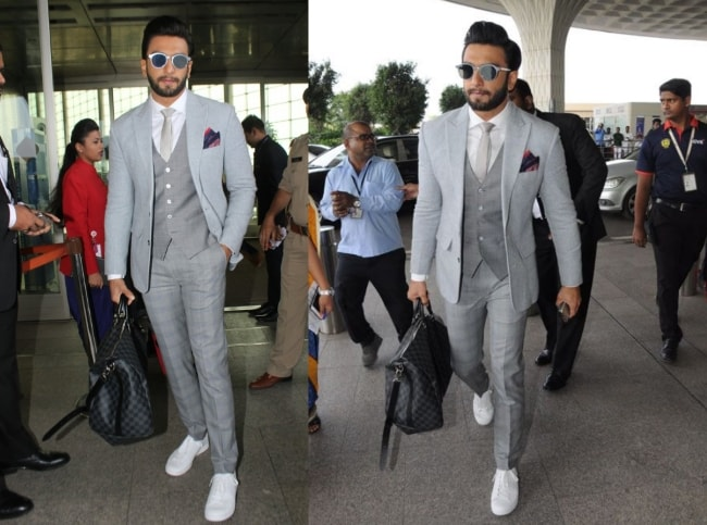 Rock The Grey Shade like Ranveer Singh 1559284213008