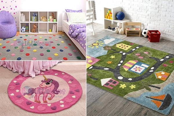 Rugs For Kids' Rooms: Add Cheer And Comfort In A Normal Space