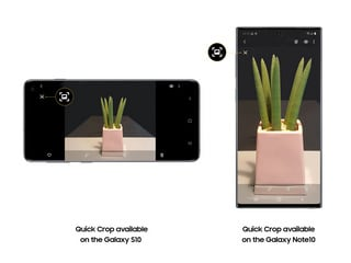 Samsung Announces Galaxy S20 Series Camera Features Will Come to Galaxy S10 Series, Galaxy Note 10 Series