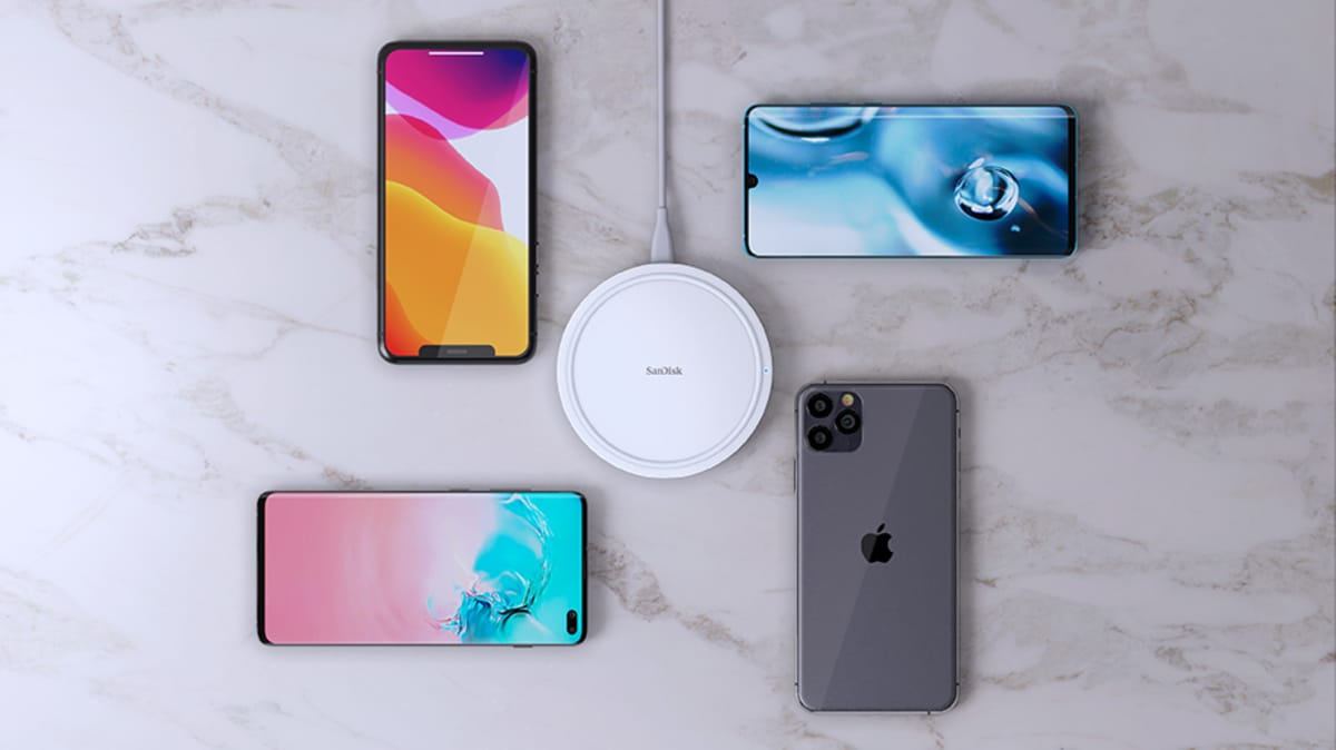 SD Ixpand Wireless Charger 15w SanDisk Ixpand Wireless Charger 15W