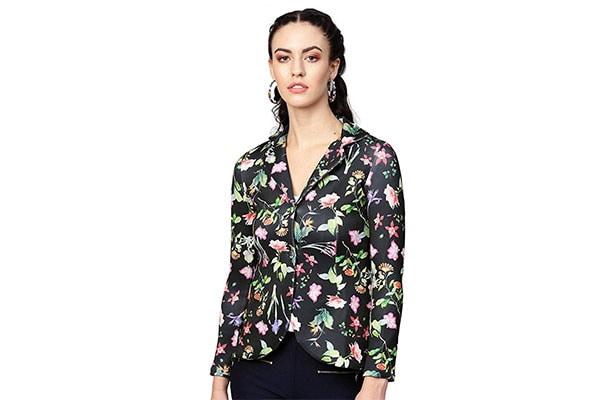 Saadgi Womens Slim Fit Blazer 1614550111812