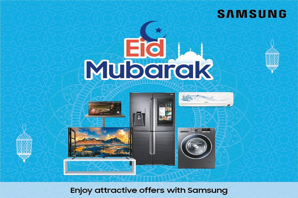 Samsung Announces Eid Offers on Refrigerators, Washing Machines, Televisions and More