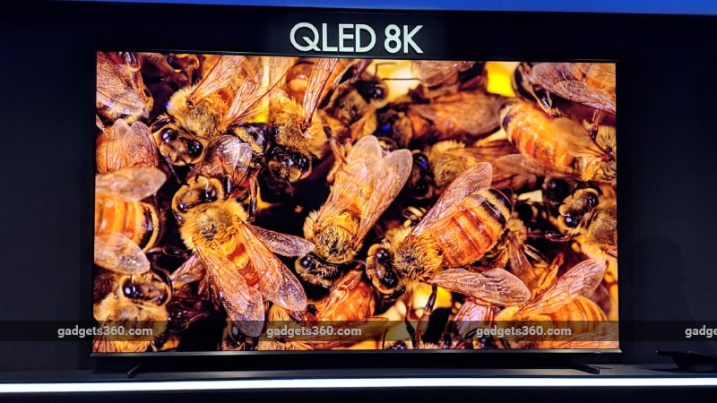 CES 2019: Samsung Unveils 98-Inch 8K QLED TVs, to Launch This Year