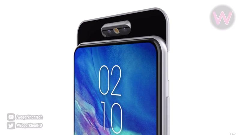 Samsung Galaxy A90 में हो सकता है रोटेटिंग कैमरा मॉड्यूल