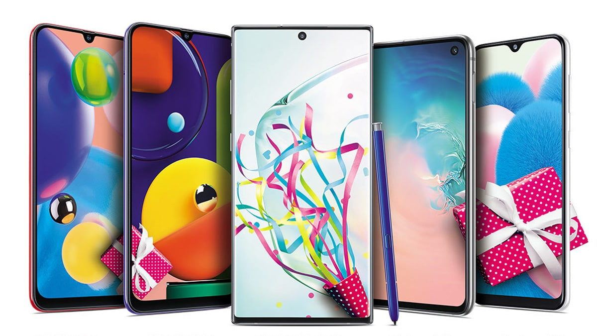 Samsung Galaxy Note 10, Galaxy S10, Galaxy A-Series Available With Offers, Discounts in 10th Anniversary of Galaxy Smartphones Sale