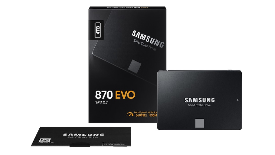 Samsung 870 Evo SATA SSD With Up to 560MBps Read Speeds, Up to 530MBps Write Speeds Launched