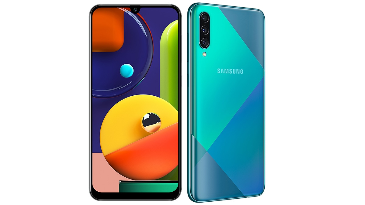 Samsung Galaxy A50s and A30s With In-Display Fingerprint Sensor launched: