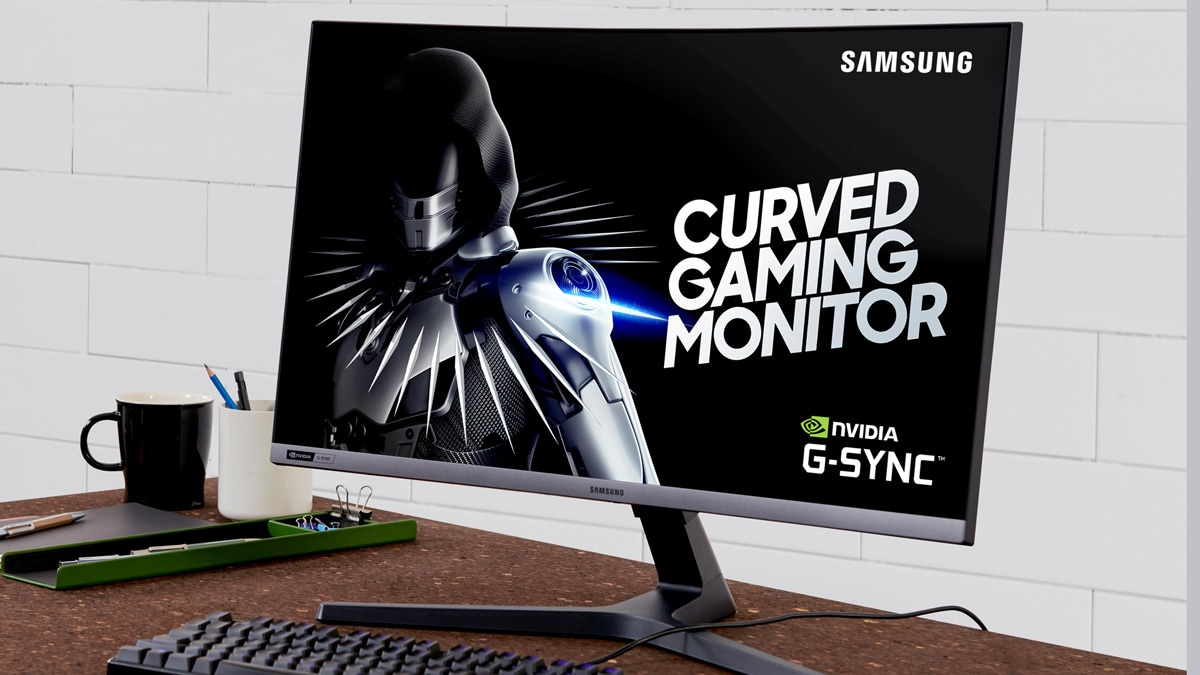 Samsung CRG5 27-Inch Curved Gaming Monitor With 240Hz