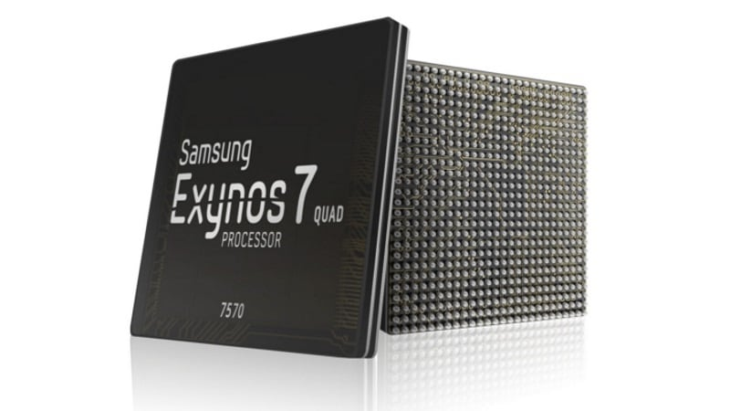Samsung Exynos 7570 Mobile Enters Mass Production
