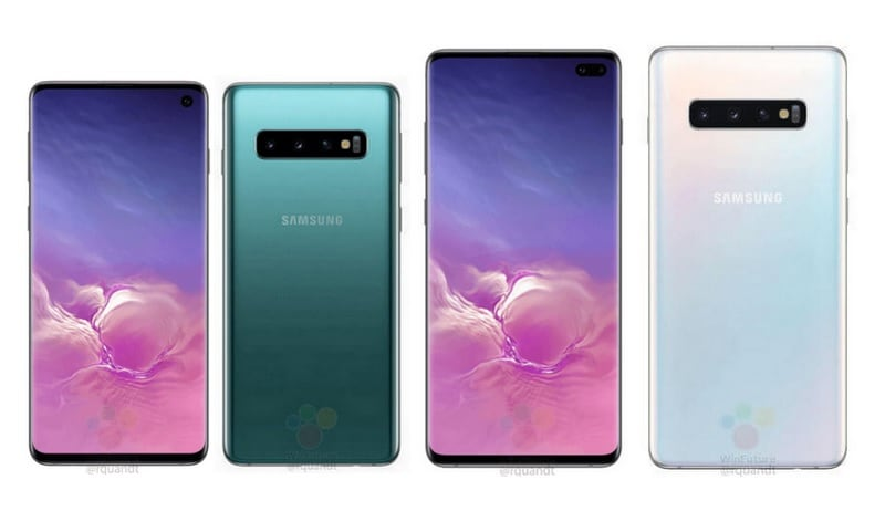 Samsung Galaxy S10, Galaxy S10+ Press Renders Leak, Show Triple Rear Cameras and Colour Options