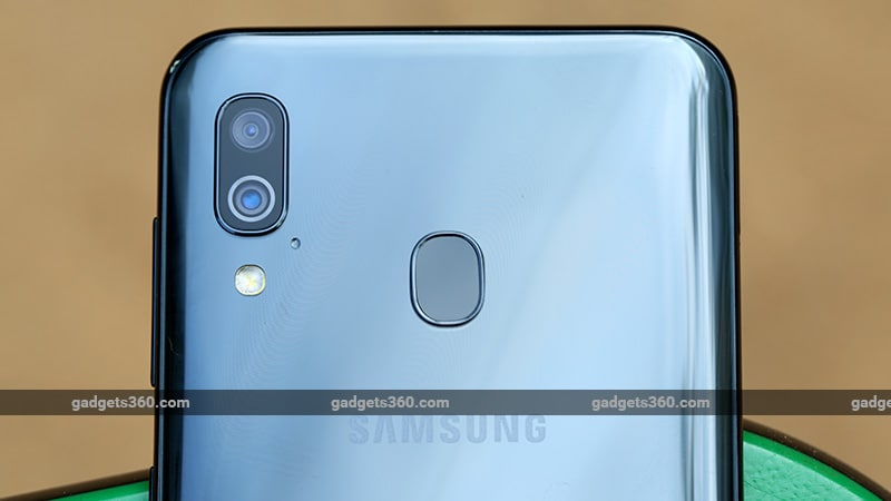 Samsung Galaxy A30 camera ndtv samsung