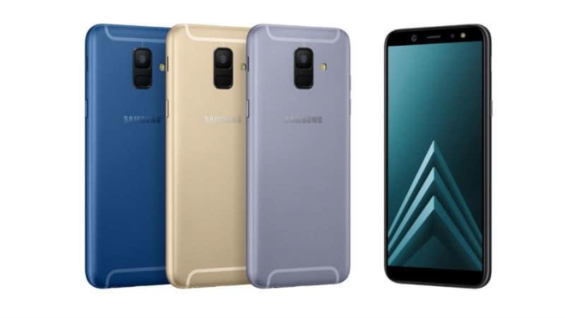 Samsung Galaxy A6, Galaxy A6+, Galaxy J4, और Galaxy J6 आज भारत में होंगे लॉन्च