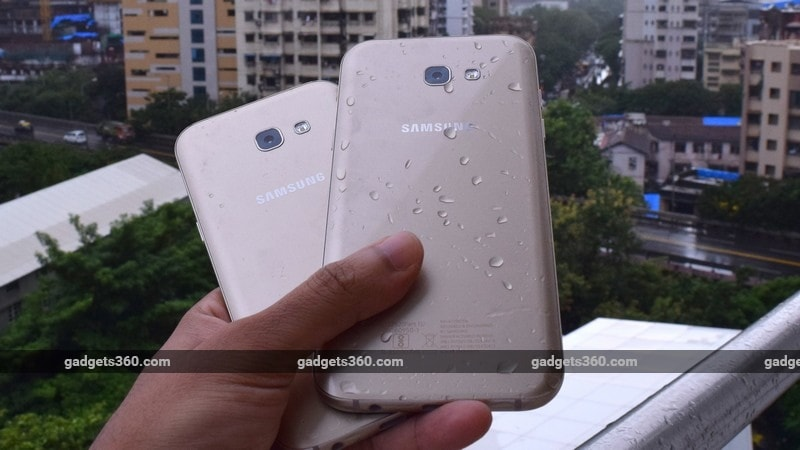 Samsung Galaxy A7 Galaxy A5 back ndtv samsung Galaxy A7 and A5