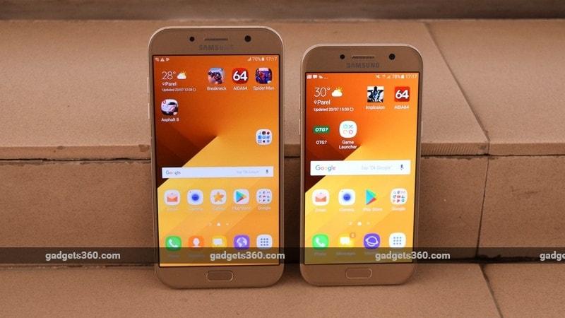 Samsung Galaxy A7 (2017) और Galaxy A5 (2017) के दाम में बड़ी कटौती