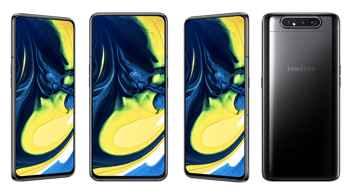 Samsung Galaxy A80 Pre-Orders Go Live in India With Cashback, No-Cost EMI Offers in Tow