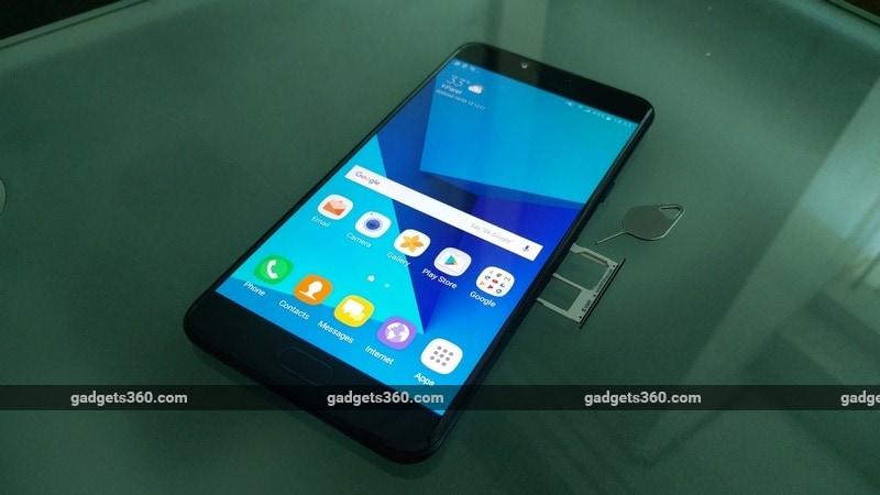 Samsung Galaxy C7 Pro SIM NDTV Samsung Galaxy C7 Pro