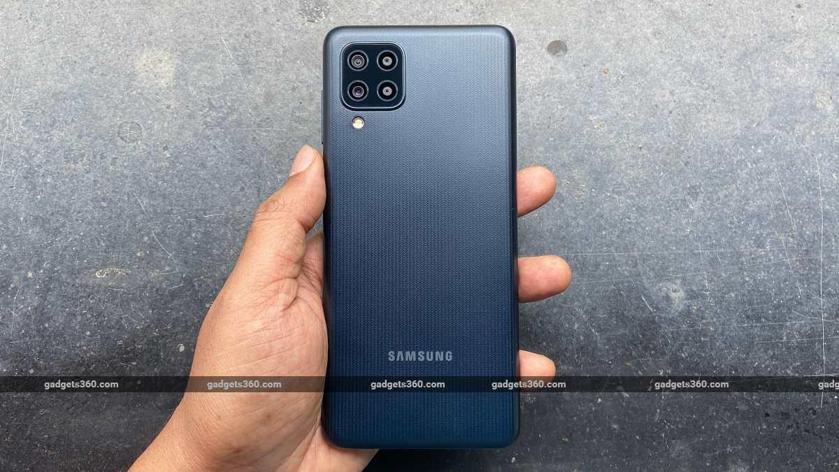 Samsung Galaxy F22 back design ndtv SamsungGalaxyF22  Samsung