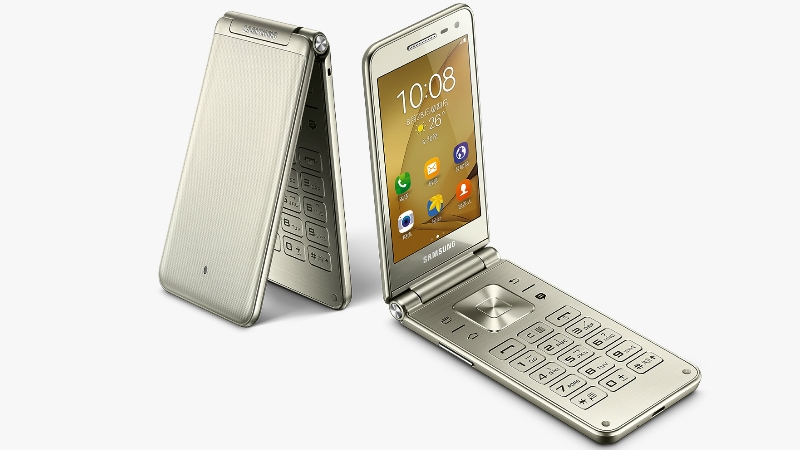 Samsung Galaxy Folder 2 Android Flip Phone With 8-Megapixel Camera Goes Official