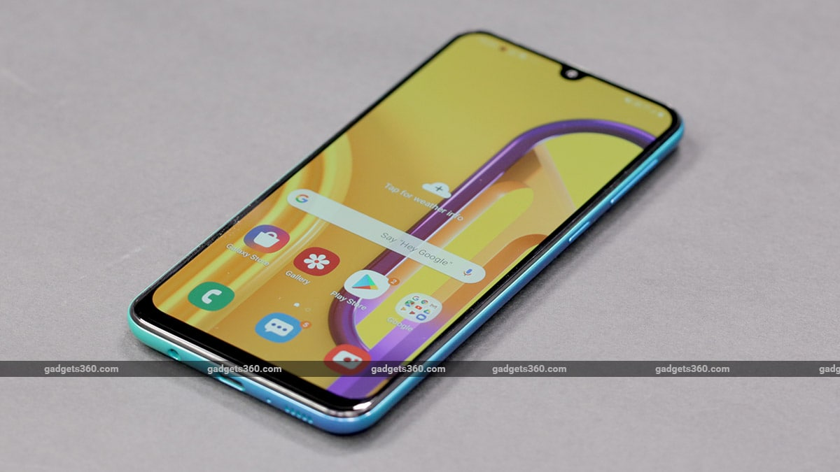 Image result for Galaxy M30s certified with Android 10 onboard