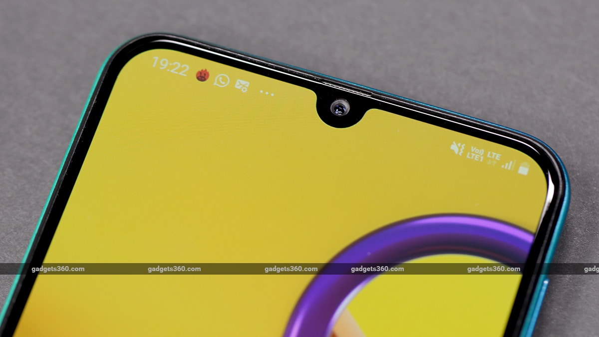 Samsung Galaxy M30s Notch Samsung Galaxy M30s Review