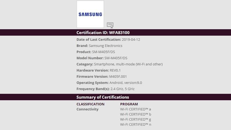 Samsung Galaxy M40 लॉन्च से बहुत दूर नहीं