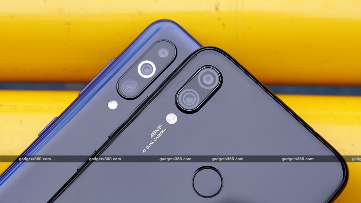Samsung Galaxy M40vsRedmi Note 7 Pro Cameras Samsung Galaxy M40 vs Redmi Note 7 Pro