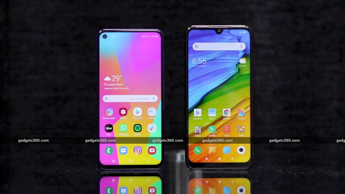 Redmi Note 7 Pro vs Samsung Galaxy M40: Camera, Battery Life