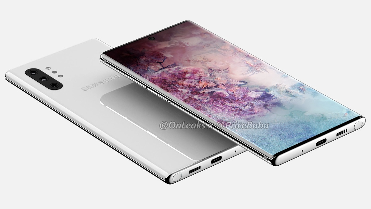 Samsung Galaxy Note 10 Pro Cover source onleaks pricebaba