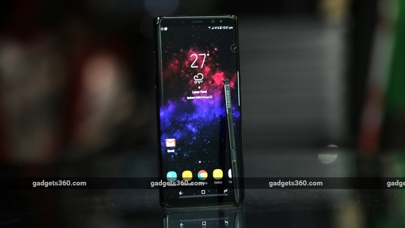 Samsung Galaxy Note 8 Android 8.0 Oreo Starts Rolling Out in India, Users Report