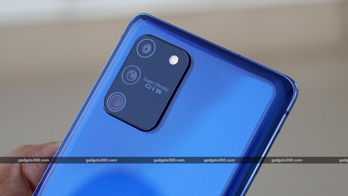 Samsung Galaxy S10 Lite camera samsung