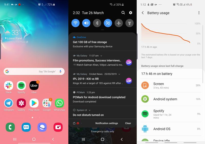 Samsung Galaxy S10e apps ndtv samsung
