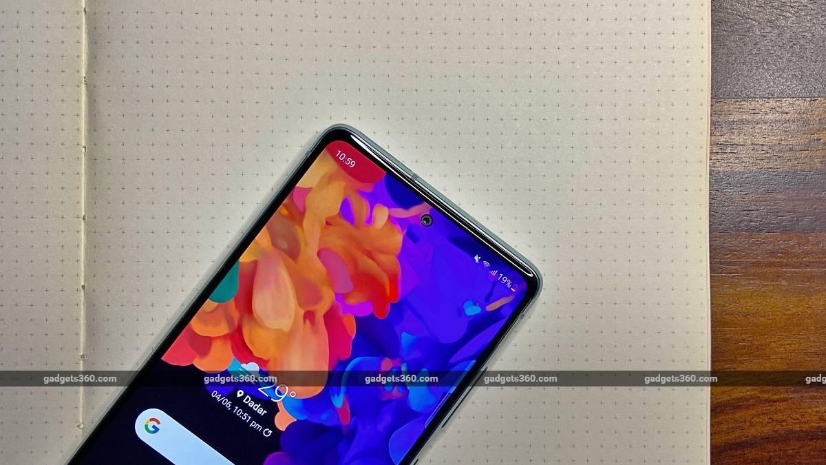 Samsung Galaxy S20FE 5G back display camera ndtv SamsungGalaxyS20FE5G  Samsung