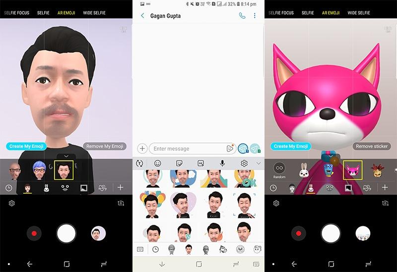 Samsung Galaxy S9 S9 plus ar emoji  ndtv sasmung