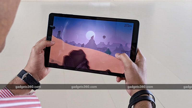 Samsung Galaxy Tab A 10.5 gaming ndtv samsung