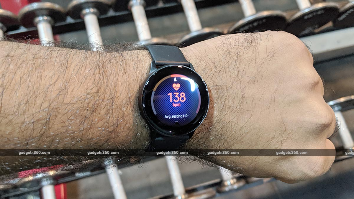 Samsung Galaxy Watch Active Heart active Samsung Galaxy Watch Active Review