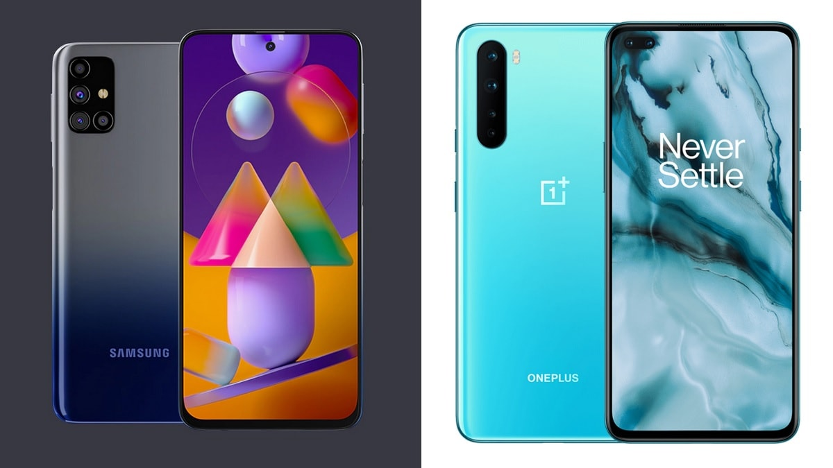 Samsung Galaxy M31s vs OnePlus Nord: Price in India ...