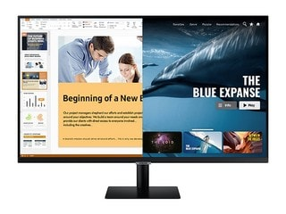 Samsung Smart Monitor M5, Smart Monitor M7 With Samsung DeX, Pre-Installed OTT Apps Launched in India