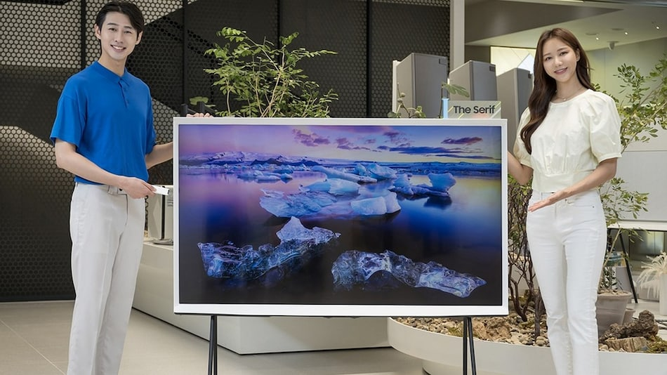 Samsung The Serif 65-Inch TV With Tap View, Magic Screen Features Launched