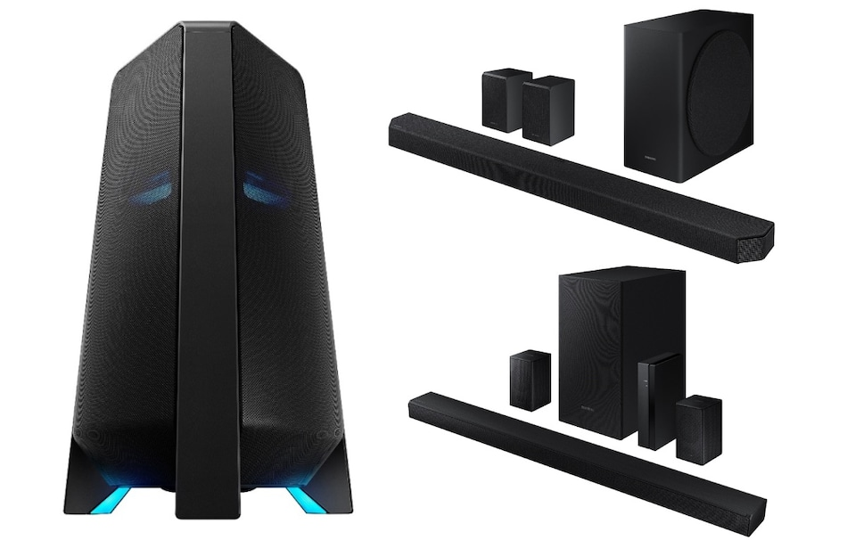 Samsung Sound Tower, Soundbar Speakers Launched in India: Here's All You Need to Know