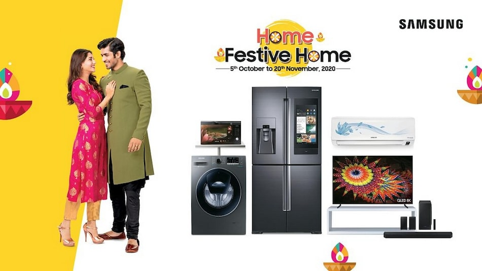 Samsung's 'Home, Festive Home' Offers Include Free Smartphones With Select Televisions