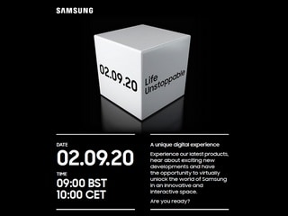Samsung Hosting 'Life Unstoppable' Virtual Event on September 2 to Unveil New Phones, Wearables, and More